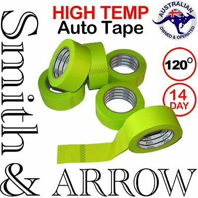 120º HIGH TEMPERATURE AUTO CAR TAPE HEAT RESISTANT MASKING PAINTING 18mm 48mm 3M