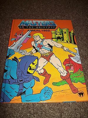 He-Man Masters Of The Universe Annual 1988 Hardback Book Good Condition
