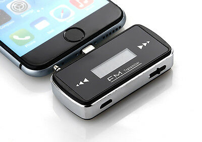 For iPhone 6 Wireless Dedicated Car FM Transmitter MP3 Radio Player