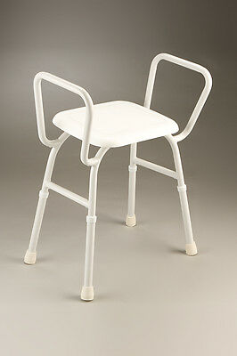 Shower Stool with Arms- Weight Capacity 125kg