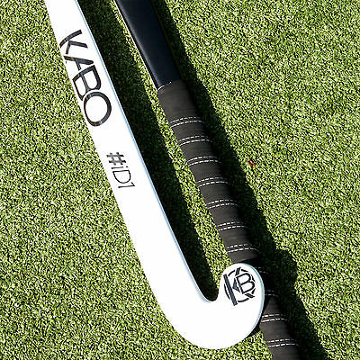 Kabo Hockey Id1 30% Carbon Indoor Hockey Stick In Duo White/black