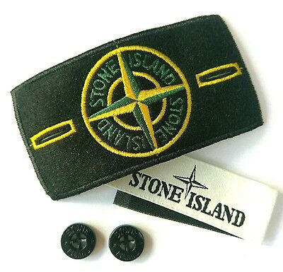 New Stone Island Badge Patch, Buttons, Label *** Sale!!!!