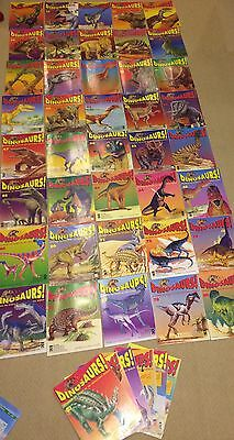 Massive Job Lot Dinosaurs Magazines (48) Orbis 1994 14-80 Not Complete