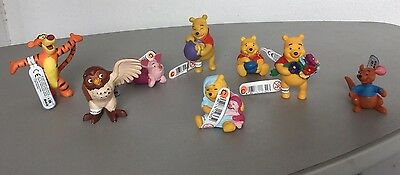 Bullyland Disney Figure - Winnie The Pooh  Series 8X Mini Figures