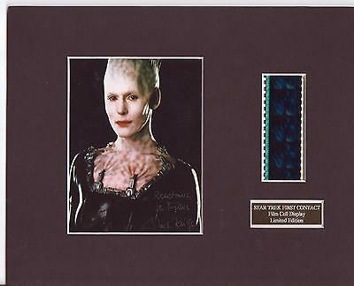 Star Trek First Contact Film Cell Display Limited Edition Extremely Rare