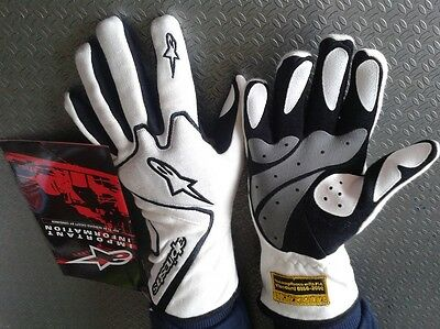 Guanti Auto Omologati Fia Alpinestars Race Gloves Fia Tech 1 Racing Rally Xxl