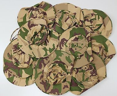 Lot Of 10 X Italy Italian Army Bush Hat Hats In Desert Camo All Small Sizes