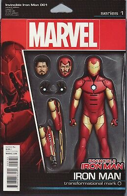 The Invincible Iron-Man 1 (2015) Actionfigur Variant