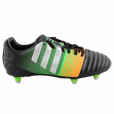 NEW adidas Junior Nitrocharge 3.0 Soft Ground Football Boots Size: 5 (RRP £42)