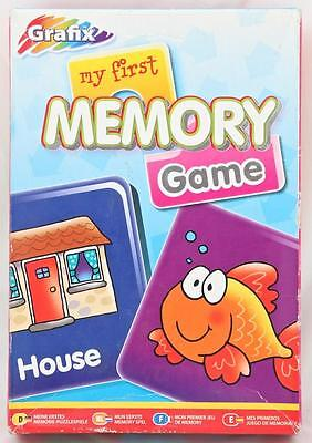 Memory Match Card Game Picture Word Recognition Problem Solve Skills Early Years