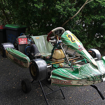 2014 Tony Kart Racer EVK with 2013 Rotax and Alfano Pro LV
