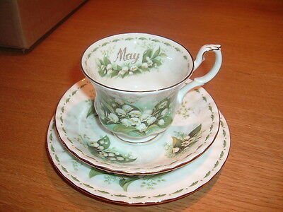Royal Albert Cup Saucer and Plate