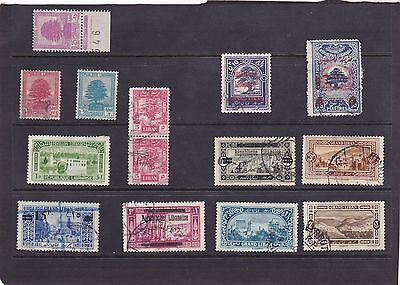Stamps of Lebanon