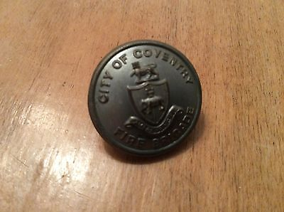 City of Coventry Fire Brigade uniform button