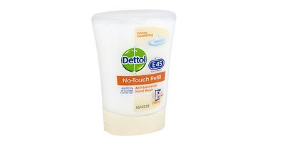 Dettol No-Touch Refill Hand Wash 250 ml-Honey Nourishing,Pack Of 5 **Free P&P**