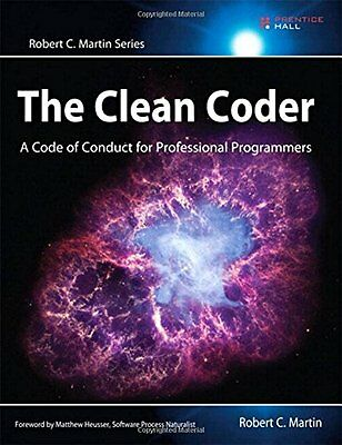 The Clean Coder,PB,Robert C. Martin - NEW