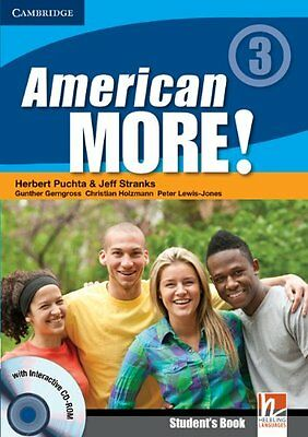 American More! Level 3 Students Book with CD-ROM,MMP- NEW