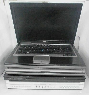 "JOB LOT X 4 ""FAULTY"" Dell Latitude D630 Vostro 1520, Inspiron 6400 Laptops DDR2!"