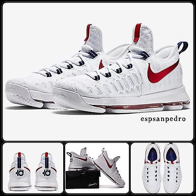 NIKE ZOOM KD 9 (GS) Size UK 3 EUR 35.5  Boys Basketball Shoes 100% AUTHENTIC