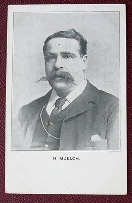 Vintage Postcard:  Early 1900's Socialist Card : H. Quelch