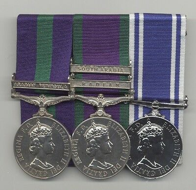 Medal Group to RAF/Police.