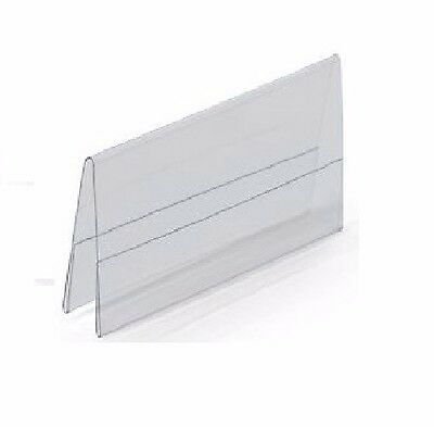 """Tent Card Holders, 3.5"""" x 2.5"""" Business Card Size, Double Sided"""