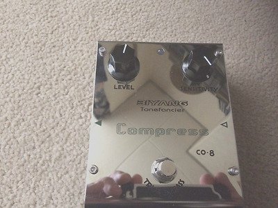 "Biyang CO-8 ""Compress"" Compressor Guitar Effect Pedal"