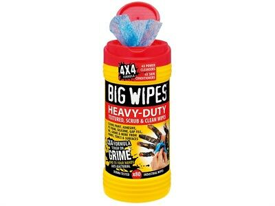 Big Wipes BGW2420 4x4 Heavy-Duty Cleaning Wipes Tub of 80