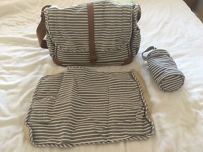 Mothercare baby changing bag with bottler warmer and changing mat