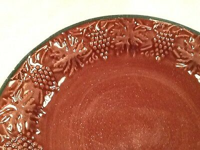 "FIORIWARE JARDINWARE (1) 11 1/2"" Dinner Plate  Grapes"