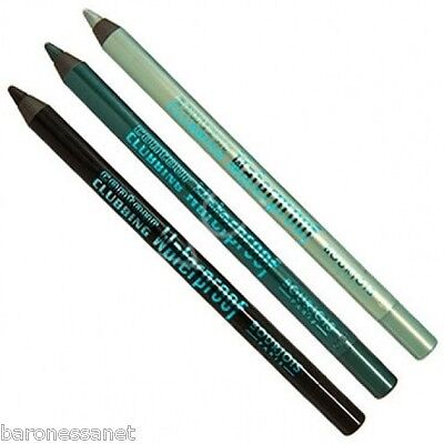 Bourjois Contour Clubbing Waterproof Eye Pencil 1.2g NEW Ultra-soft texture