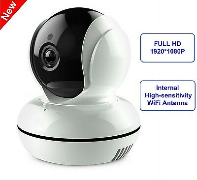 Full HD 1080P 2MP Pan Tilt Security Camera WiFi Wireless IP Network Night Vision