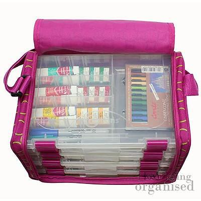 Multi Compartment Craft Jewellery Making Storage Shoulder Bag | Creative Options
