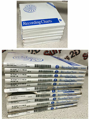 Graphic Controls PN-10938075 Chart Paper Lot of 12 Box of 100