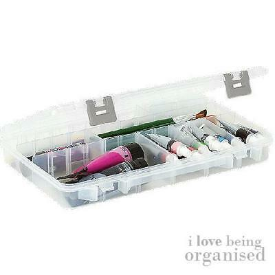 Large Clear Organiser Box | 3-28 Customisable Compartments | Creative Options Gr