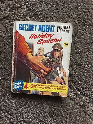 Secret Agent Picture Library Holiday Special 1958
