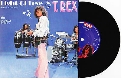"T. Rex - Light Of Love / Explosive Mouth - 7"" EU Vinyl 45 - New & Unplayed"