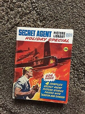 Secret Agent Picture Library Holiday Special 1969