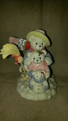 Cherished Teddies ADAM, CLAIRE & KRISTY From big to small our family has it all
