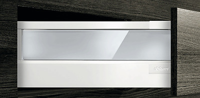 Blum frosted glass for 450mm D height Antaro, set of 2, code: Z37R417D