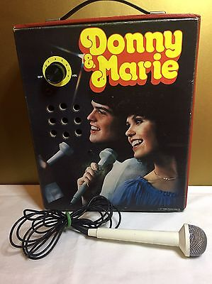 Vintage Donny and Marie Osmond Disco Amplifier Combo