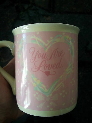 Collector You are Loved mug mates Hallmark 1986