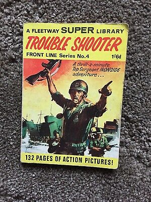 Fleetway Super Library Front Line  Series no 4 1967