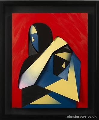 "Adam Neate ""the Hug"" (Avant Garde) Edition Of 100 - Signed"