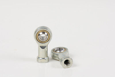 M8 Female  Steel Rod End Bearing for 10 mm shaft, self lubricated