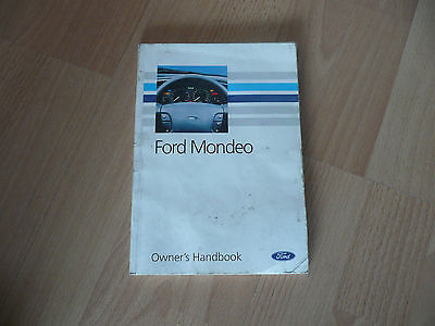 Ford Mondeo Owners Handbook 93+