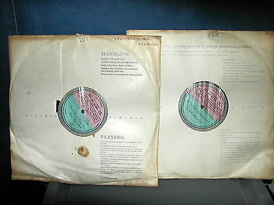 OS 25776 Command performance Joan Sutherland LP Stereo 2 x1 sided test pressing