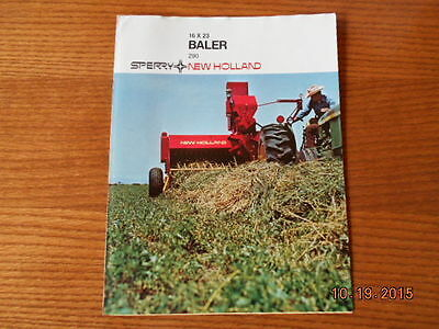New Holland Balers 290 sperry sales brochure
