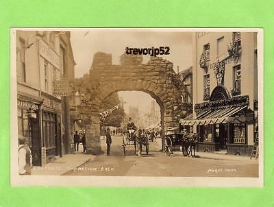 Chichester Eastgate Coronation Arch Horse & Carriage unused RP pc Morey Ref B312