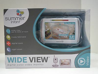 ***NEW Summer Infant Wide View Digital Color Video Baby Monitor 29000B***